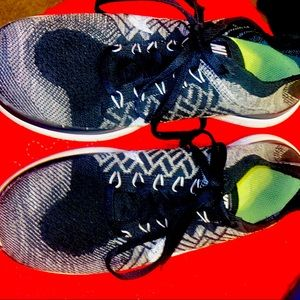 Used Nike free4.0 FLYKNIT , woman's size 8.5
